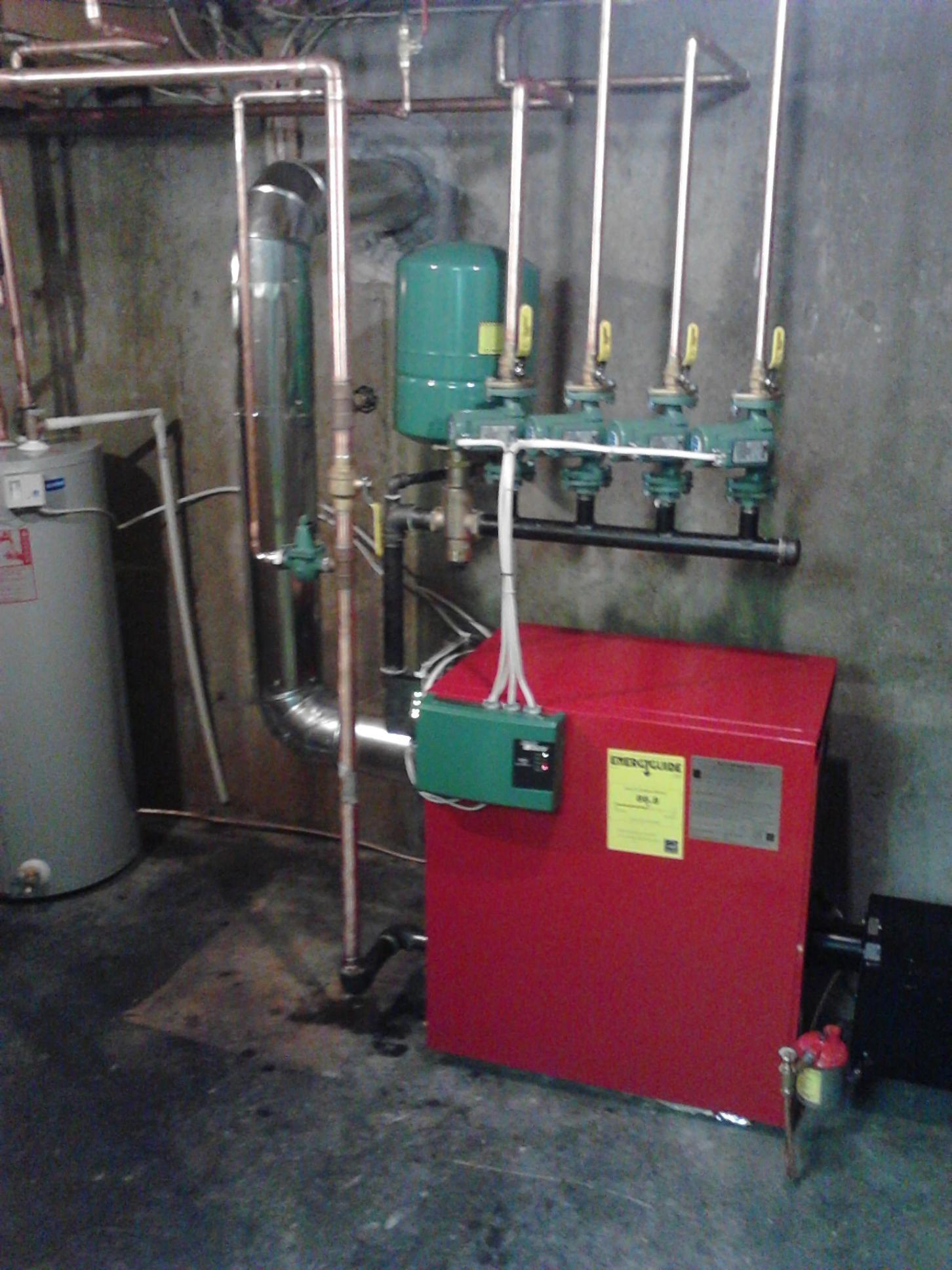 Completed Biasi Boiler 1